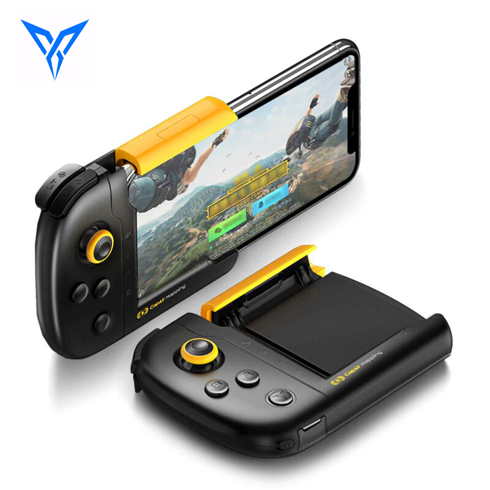 FlyDiGi WASP One-handed Gamepad Physical Connection CapAir Mapping Joystick for PUBG Mobile Game Controller for iPhone 7 8 Plus flydigi x9et pro non vibration mobile game handle controller