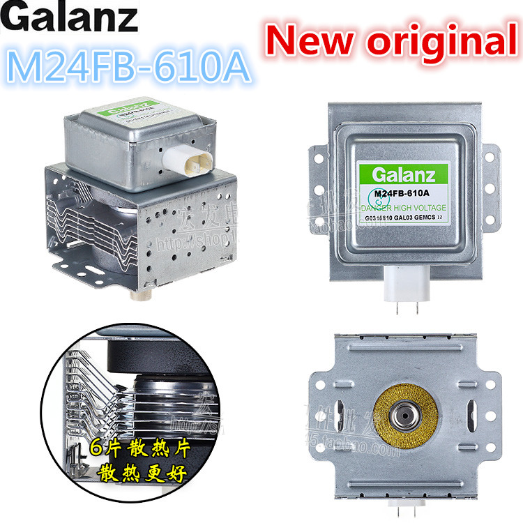 new Original M24FB-610A for Galanz Magnetron Microwave Oven Parts,Microwave Oven Magnetron Microwave oven spare parts