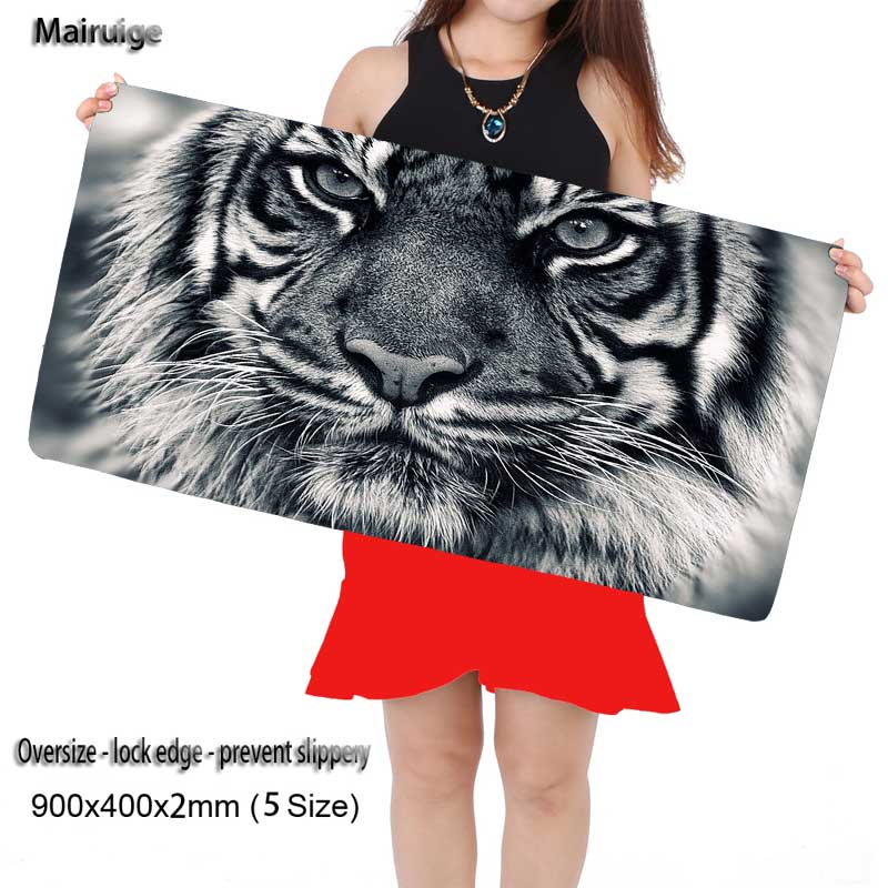 Mairuige Fashion Animals Tigers Face Mouse Pad New Large Pad To Mouse Notbook Computer Mousepad Gaming Mouse Mats To Mouse Gamer
