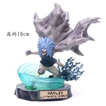 Figura de Sasuke Uchiha transformado de Naruto (18cm) Figuras de Naruto Merchandising de Naruto
