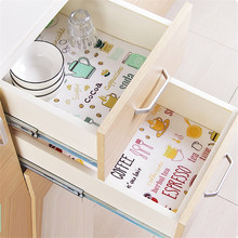 Kitchen Table Drawer Shelf Liner Antibacterial Paper Mat Pad drawer closet table mat anti-oil Waterproof kitchen decoration HY(China)