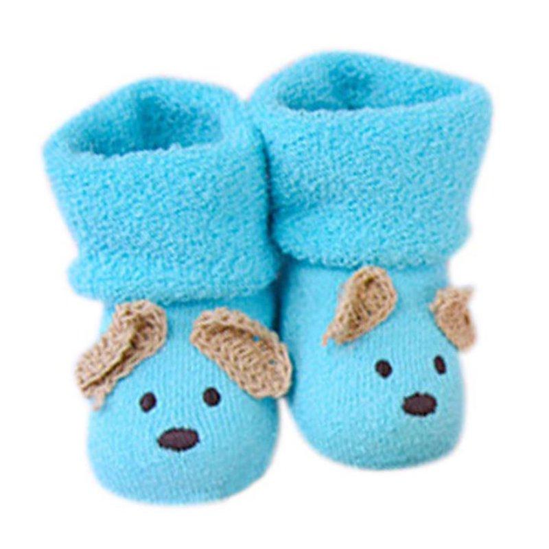 Unisex Newborn Baby Boy Girls Infant Cute Bear Crib Warm Shoe Toddler Toddler Socks Sapatos