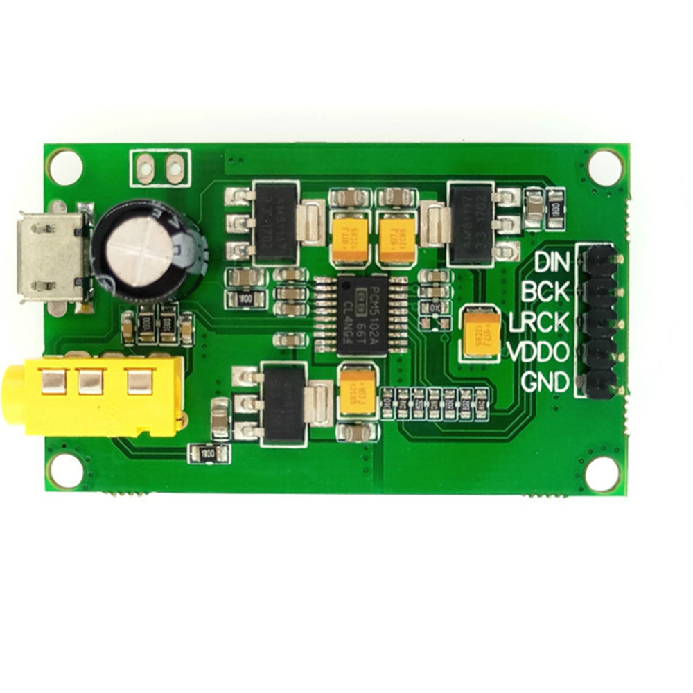 PCM5102A I2S digital input audio DAC decoder board (can be equipped with CSR8675 Bluetooth module group) touchstone teacher s edition 4 with audio cd