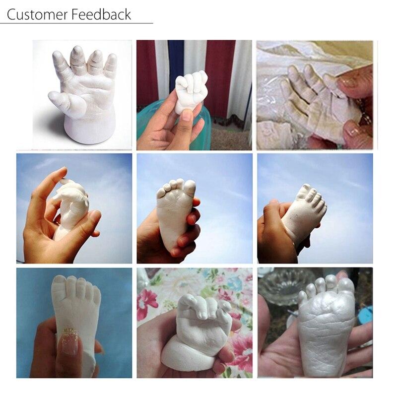 3D Plaster Baby Hand & Foot Casting Kit 400g Moulding Powder