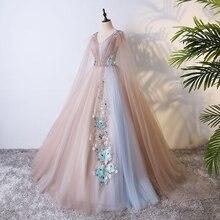 Настоящая вышивка, длинное средневековое платье, платье Ренессанса, сказочный карнавальный костюм в викторианском стиле/Marie Antoinette, бальное платье колокольчика