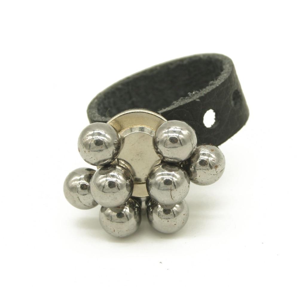 Magic Magnetic Ring Magnet Finger Magician Tool Leather For Slingshot Steel Ball Slingshot Accessories