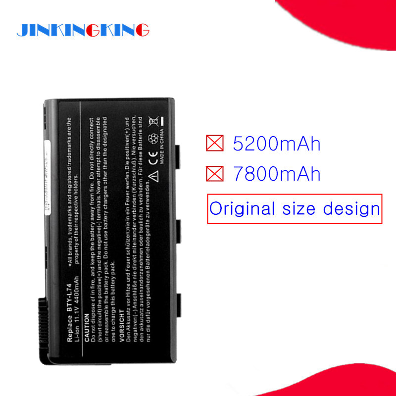 Laptop battery FOR <font><b>MSI</b></font> CR620 CR630 CR700 CX600 CX600X CX610 CX620 <font><b>CX620MX</b></font> CX620X CX630 CX700 GE700 EX460 EX610 CX623 CX500 A7005 image
