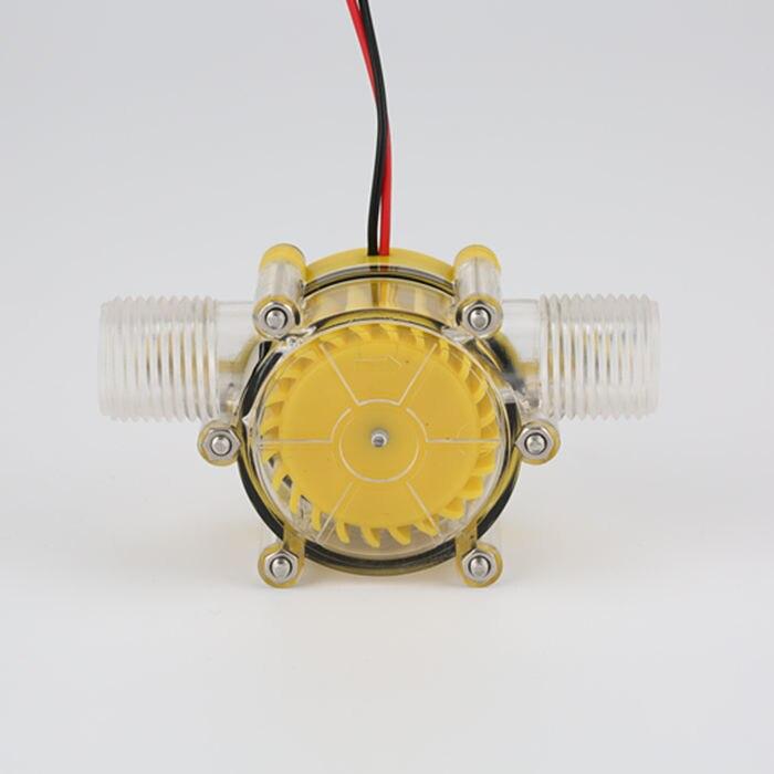 Débit d'eau générateur turbine générateur hydroélectrique micro hydro générateur 1/2 pouces d'eau portable chargeur 10 W 12 v 5 pcs