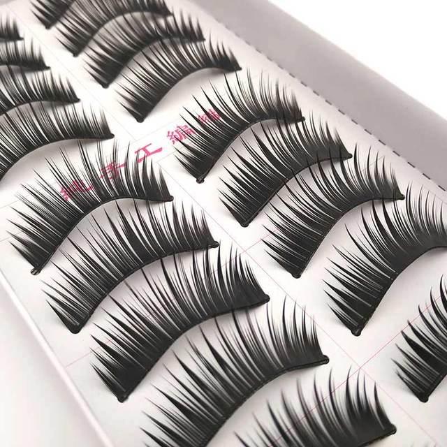New 5 styles 10 pairs false eyelashes makeup beauty eyelash extension natural fake eyelashes for maquiagem makeup thick cilios 4