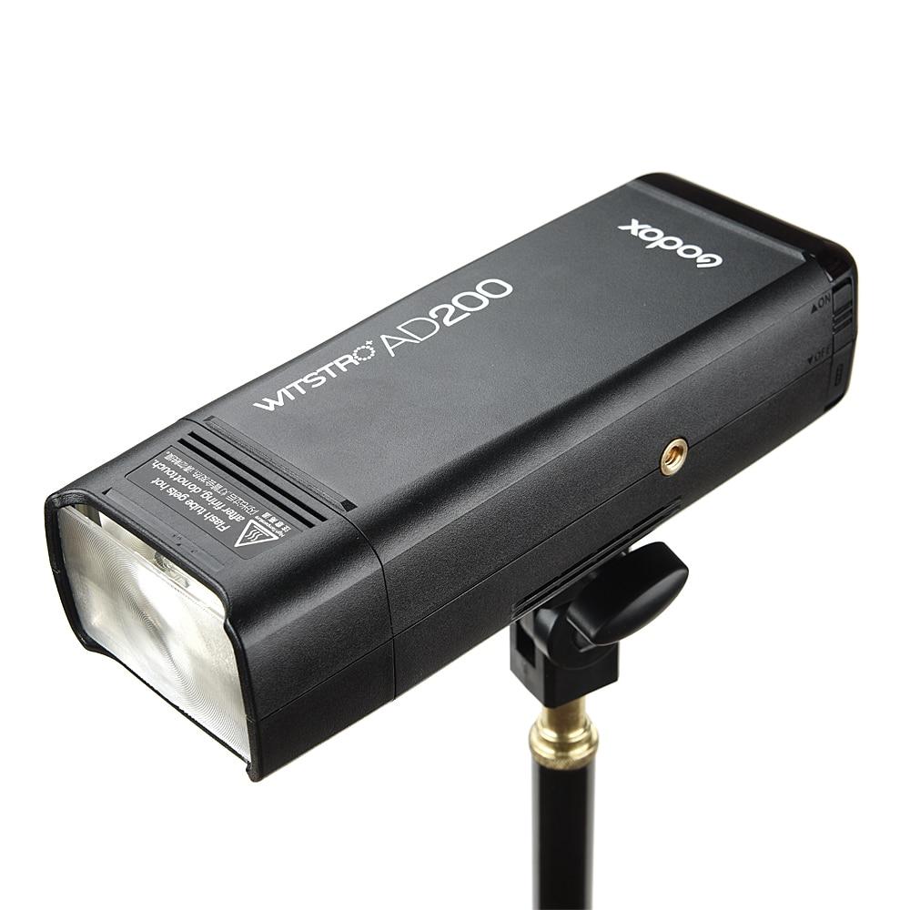 Godox AD200 Pocket Flash 200W 2.4G Sistema X inalámbrico TTL HSS Luz - Cámara y foto - foto 2