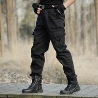 Leger Joggingbroek.Verkoop Cargo Broek Mannen Merk Kleding Werk Multi Pocket Parkour