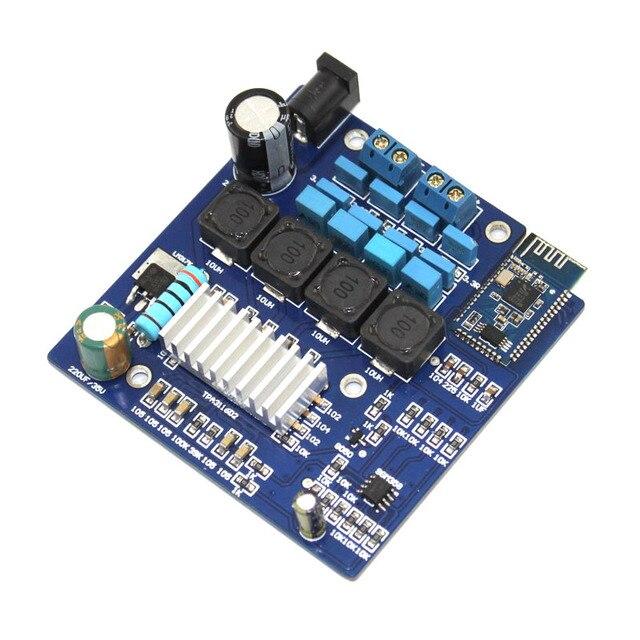 Placa amplificadora Digital Bluetooth 4,0 Clase D 2x50W TPA3116 CSR8645 sin pérdidas