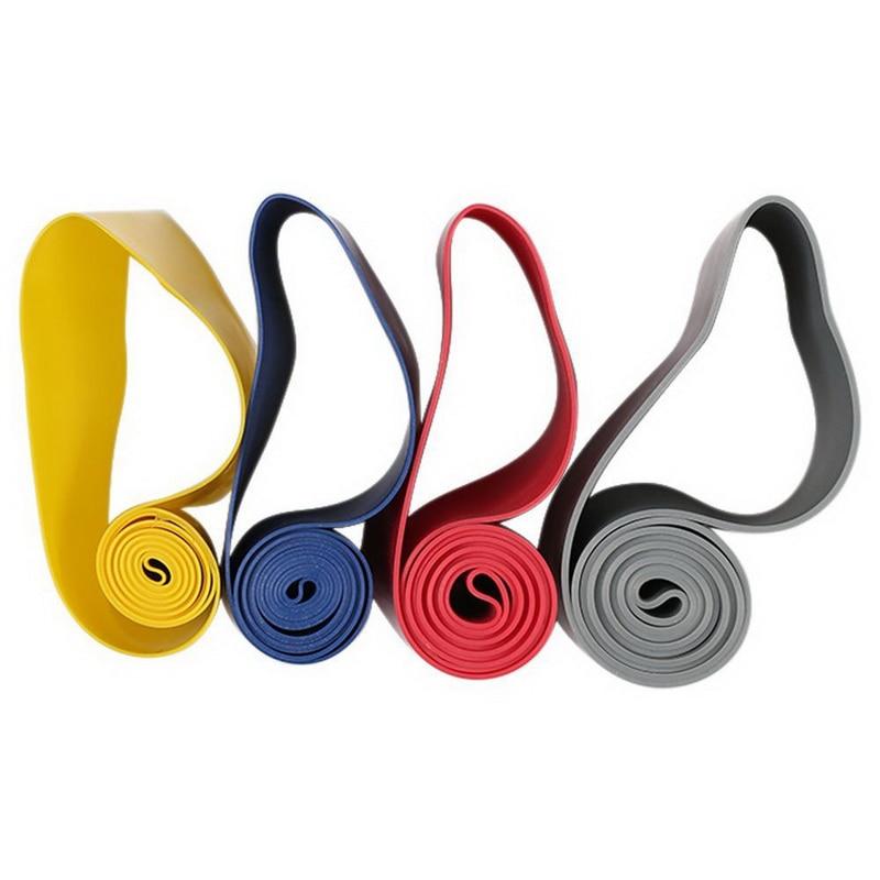 4 Pcs/Set High Quality Resistance Loop Exercise Fitness Bands For Yoga Strength Training Pilates Calisthenics B2Cshop
