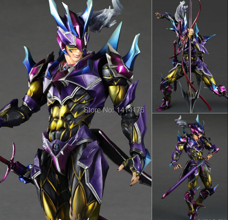 1pcs/Lot Square Enix Excellent Model FINAL FANTASY VARIANT Play Arts Kai Dragoon Complete Action Figure Juguete Brinquedos
