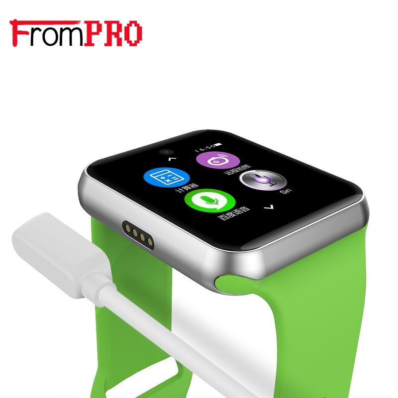 FROMPRO DM09 Bluetooth Smart font b Watch b font 2 5D ARC HD Screen Support SIM