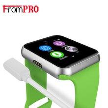 Frompro DM09 Bluetooth Smart часы 2.5D Arc HD Экран Поддержка sim-карты Беспроводные устройства SmartWatch волшебная ручка для IOS Android