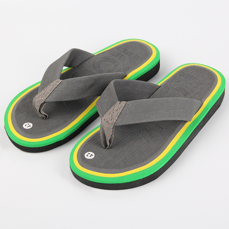Summer air slip flip flops font b men s b font fashion slippers pinch font b