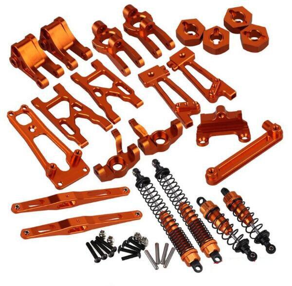 Wltoys k949 10428 A 10428 B 10428 C rcカースペアパーツアルミ合金アクセサリー  グループ上の おもちゃ & ホビー からの パーツ & アクセサリー の中 1