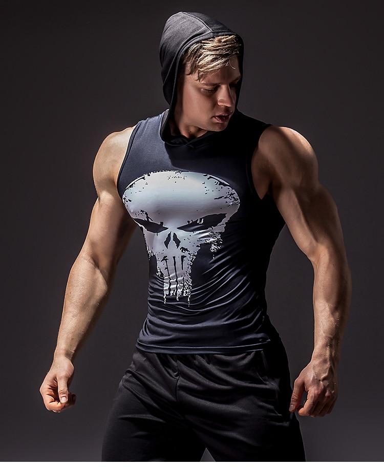 Men's Superhero 3D Printed Tank Top 17