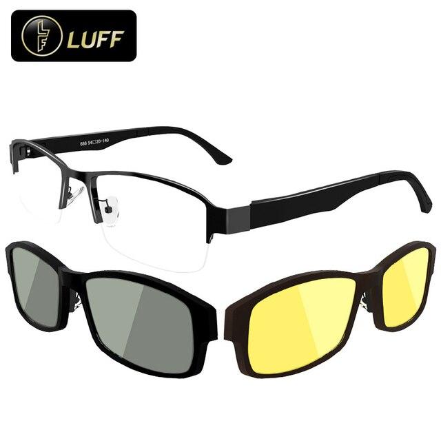 7c3aba55db8d9 High-end óculos de miopia armações de óculos para o grau de óculos de Sol