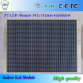 HD SCREEN CE ROHS 192*192mm 64x64 dots 16scan rgb smd indoor p3 led module/p3 full color led display
