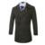 Mistura de lã Casaco Homens Inverno Quente Turn-Down Jacket Collar Sólidos Double Breasted Casual Masculino Top Outerwear Alta Qualidade N79