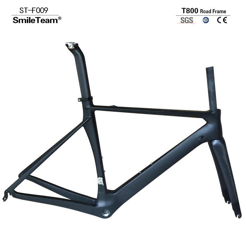 Complete Road Carbon Bike Carbon Bike Road Frame with Aluminum Alloy wheels