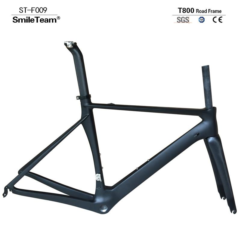 Vélo de route complet en carbone, cadres de route en carbone avec roues en alliage d'aluminium et groupes Shima-no 5800 pour vélo complet