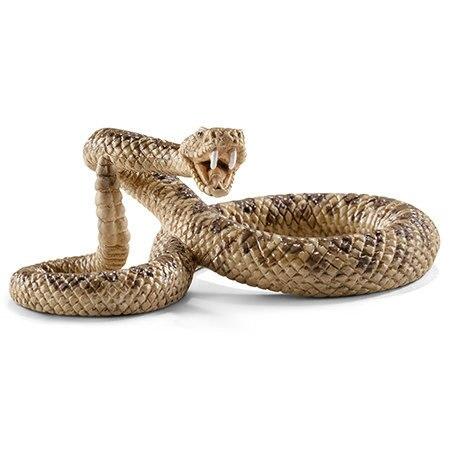 Figures Educational-Toys Animal-Model Reptiles Rattlesnake Kids Gift Wild Children Life-Zoo
