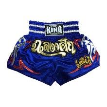 Новейшие тайские шорты/тайское боксерское оборудование hanwrap/вышитые тайские шорты