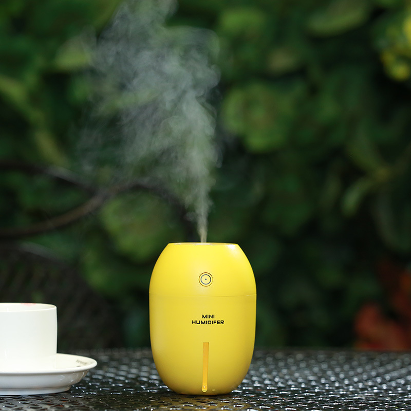 kebidumei 180 ML car freshener Car Humidifier Lemon Ultrasonic USB Portable DC With