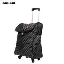 """Travel tale 1"""" 20"""" дюймов женская сумка для путешествий чемодан Ретро ручной клади ручная сумка для багажа для душевой кабины"""