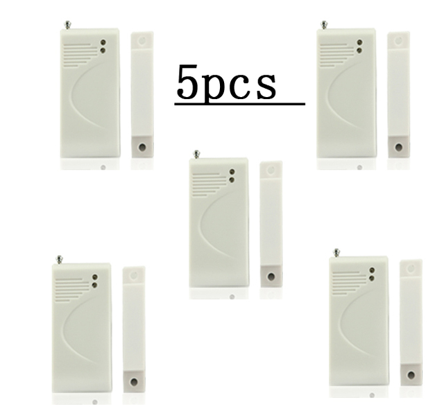5PCS Wireless Door Sensor window sensor 433MHZ For Home Alarm System