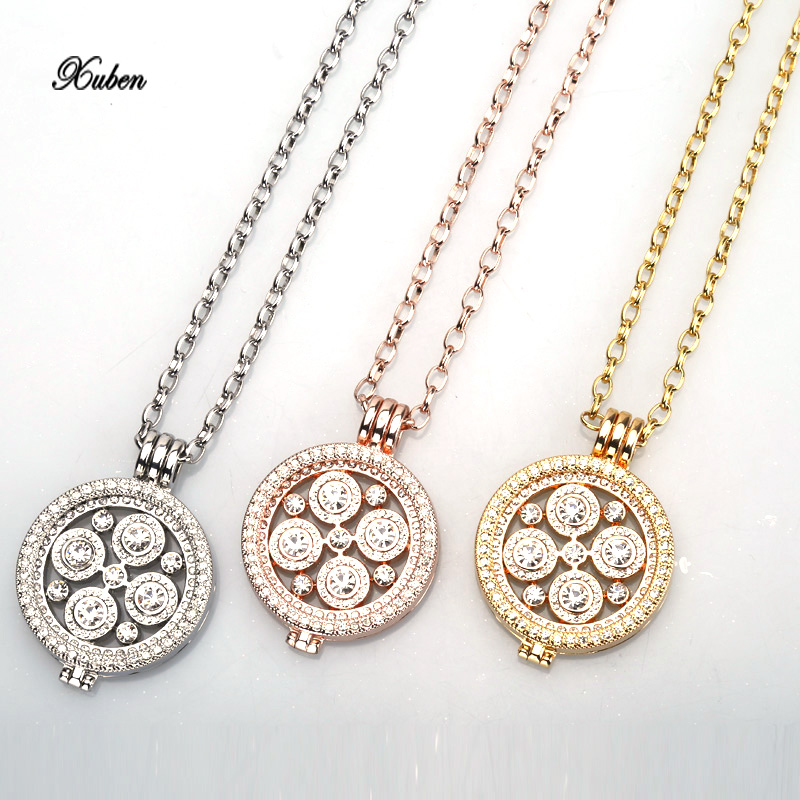 Xuben New my coins 35mm necklace pendant fit 33mm coin holde