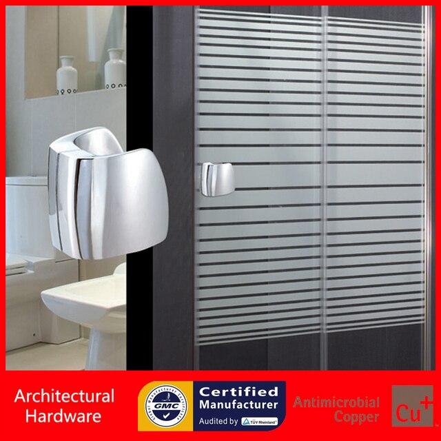 Shower Door Handle Glass Door Pull Handles Solid Zinc Alloy Door Knobs For Bathroom/Washing Room PA-830-L80mm