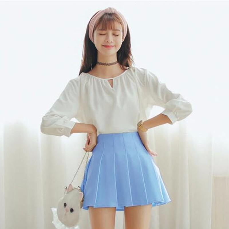 pleated skirt 11