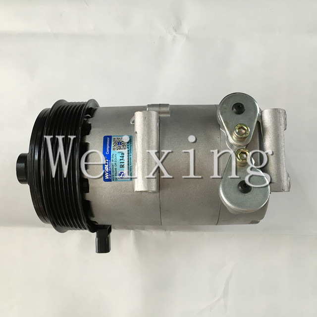 Auto AC compressor VS16 PV7 for Ford Transit bus 2.4 6C1119D629BD 1383679 1421335 1444893 6C1119D629BC 6C1119D629BE