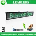 77 см Bluetooth Программируемый Светодиодный Знак/СВЕТОДИОДНЫЙ дисплей Доска Может Прокрутки Сообщение для Бизнеса и Магазин-Зеленый Сообщение