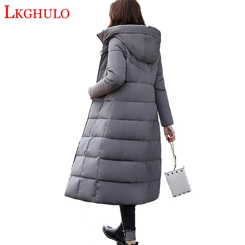 Jackets & Coats Lkghulo 2018 Women Parkas Winter Female Warm Thicken Middle-long Slim Hooded Jackets Coat Outwear Parkas Coat M-3xl W513 To Have A Unique National Style Women's Clothing