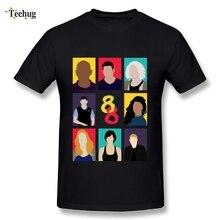 New Arrival Mens Sense 8 T Shirt O-neck Design Fashion Movie Homme Tees