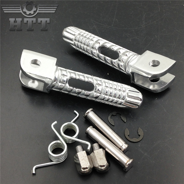 Aftermarket free shipping motorcycle parts Motorcycle Front Foot Pegs  Footrest For Suzuki GSX R GSXR 600/750 1000 2000 2011