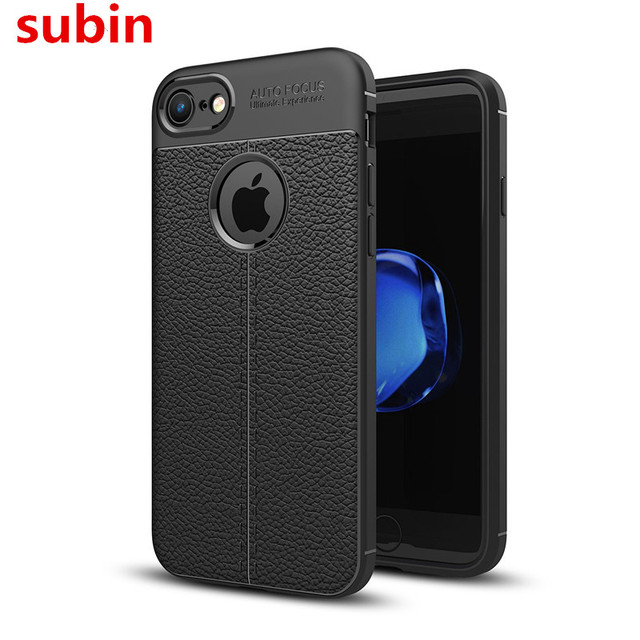 best website 4307d 52db6 US $3.57 13% OFF|Aliexpress.com : Buy For Apple iPhone 8 case 4.7 inch soft  cover silicone 4 cool luxury colors carbon fibre shell For apple iphone8 ...