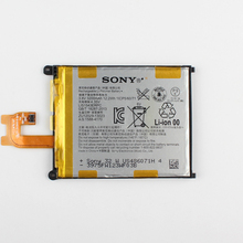 Оригинальный sony lis1543erpc аккумулятор для sony xperia z2 l50 l50w l50u l50t d6502 d6503 3200 мАч