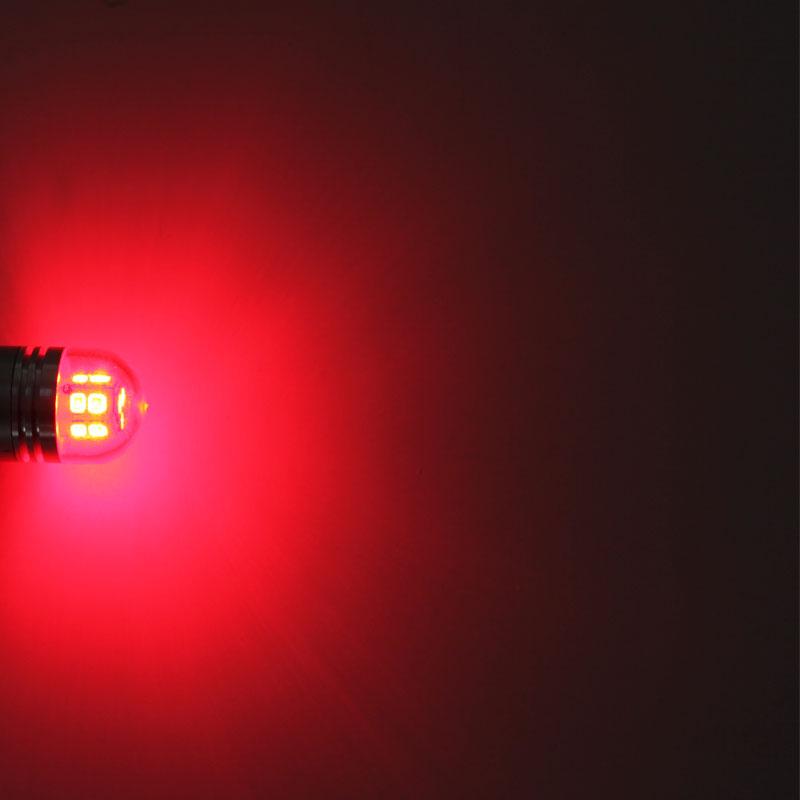 T20 7443 Automobile Trucks LED Brake Lights Signal Lamp Light Source 3000K Red Lights DC 10V 36V LED Car Bulb Wholesale