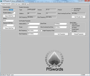 Image 2 - ISO18000 860Mhz ~ 960Mhz UHF تتفاعل ISO 18000 6C 6B قارئ الكاتب ل 18000 6B 18000 6C ناسخة كلونر EPC GEN2 مع تطوير SDK