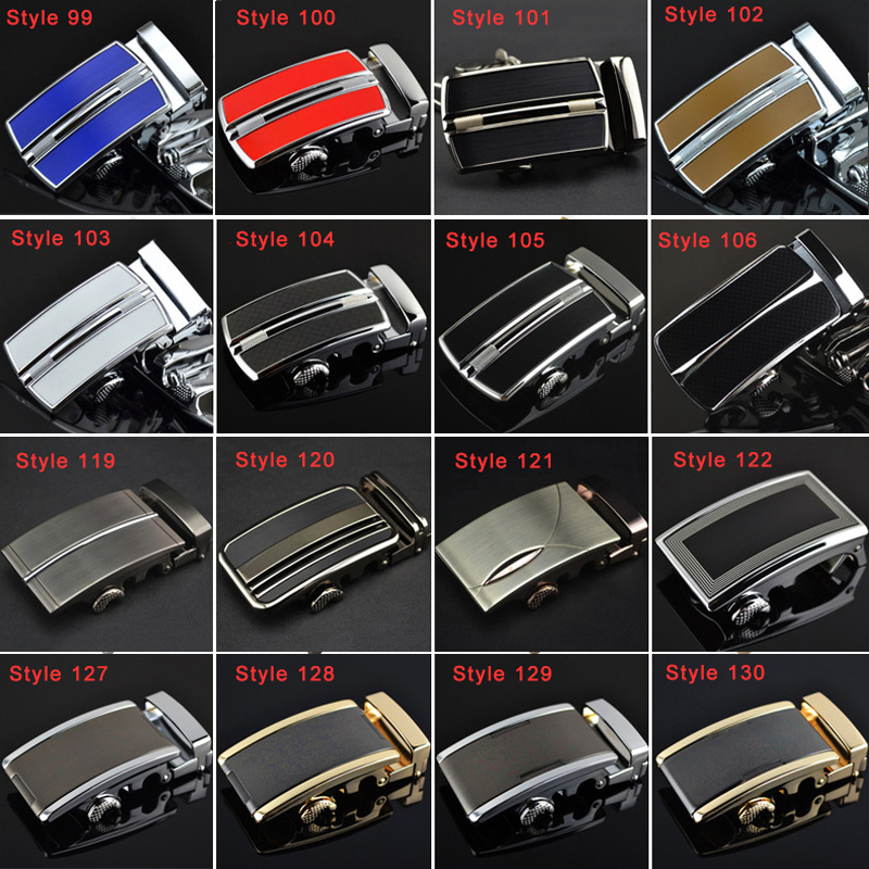 3.5cm Width   Belt   Buckles For Men 2019 High Quality Business Metalen Automatic   Belt   Buckles Head White Blue Red Yellow Black