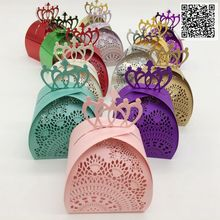 100pcs European-style hollow Wedding Candy Box Creative Laser Cutting Hollow Gift Paper Boxes Chocolate Carton Wedding Supplies 100pcs 2017 five star european style hollow wedding candy box gift paper boxes chocolate carton wedding supplies