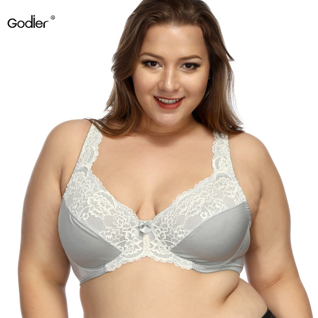 ab37715d7c Godier Sexy Big Size Push Up Bra Transparent Bra Breast Bralette Underwear  Women Intimate G Cup 75 80 85 90 95 100 105 Full Cup