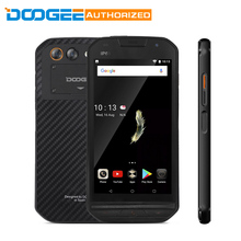 DOOGEE S30 IP68 Waterproof Android 7.0 5580mAh MTK6737 Side Fingerprint Dual Cameras 5V/2A 5.0″HD 2GB RAM 16GB ROM Smartphone
