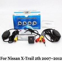 Автомобиль Проводной Или Беспроводной Резервная Камера Для Nissan X-Trail X Trail, pdf 2007 ~ 2012/RCA AUX HD CCD Ночного Видения/Камера Заднего вида